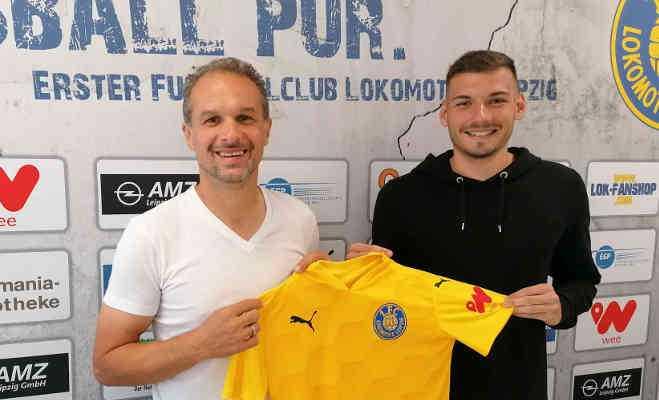 Almedin Civa und Luca Sirch - Foto: 1. FC Lok Leipzig