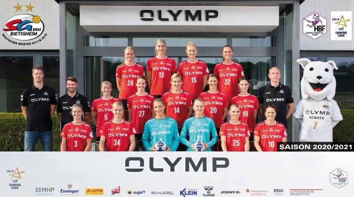 SG BBM Bietigheim - Handball Bundesliga und EHF Champions League Saison 2020 - 2021 - Copyright: SG BBM Bietigheim