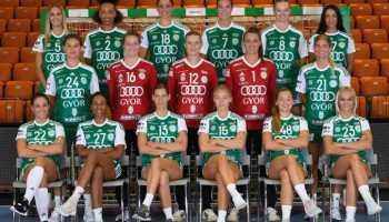 Györi Audi ETO KC - Handball Ungarn und DELO EHF Champions League Saison 2020-2021 - Copyright: Györi Audi ETO KC
