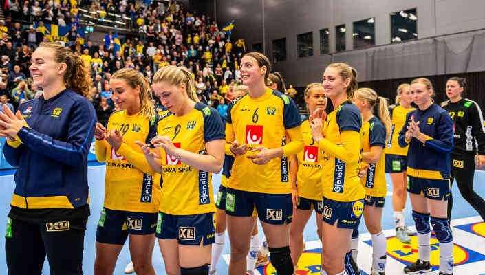 Handball EM 2020 - Kader Schweden - Copyright: Christoffer Borg Mattisson/Handbollslandslaget