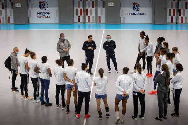 Handball EM 2020 Team Frankreich - Copyright: FFHANDBALL / J.SCHLOSSER
