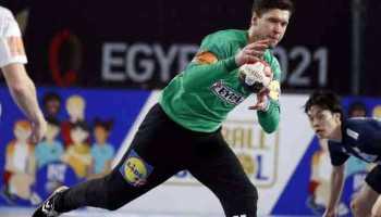 Handball WM 2021 Ägypten - Dänemark vs. Japan - Niklas Landin - Copyright: © IHF / Egypt 2021