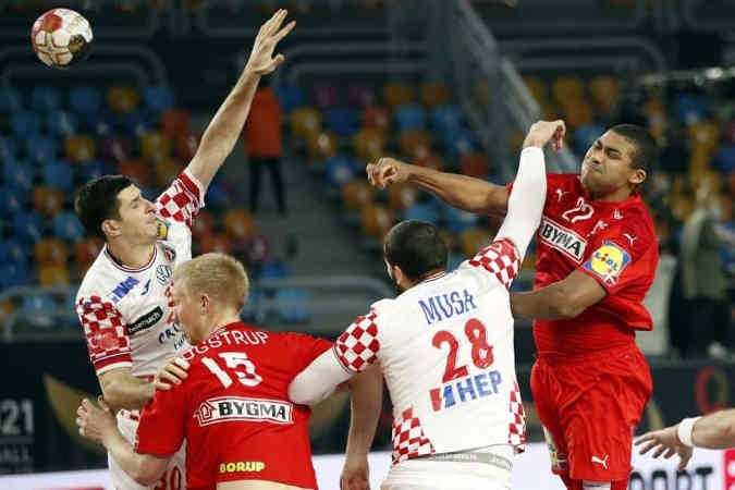 Handball WM 2021 Ägypten - Dänemark vs. Kroatien - Copyright: © IHF / Egypt 2021