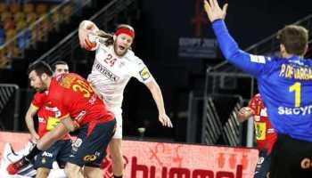 Handball WM 2021 Ägypten - Dänemark vs. Spanien - Mikkel Hansen - Copyright: © IHF / Egypt 2021