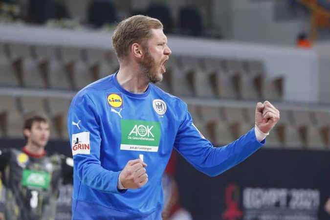 Handball WM 2021 Ägypten - Deutschland vs. Brasilien - Johannes Bitter - Copyright: © IHF / Egypt 2021