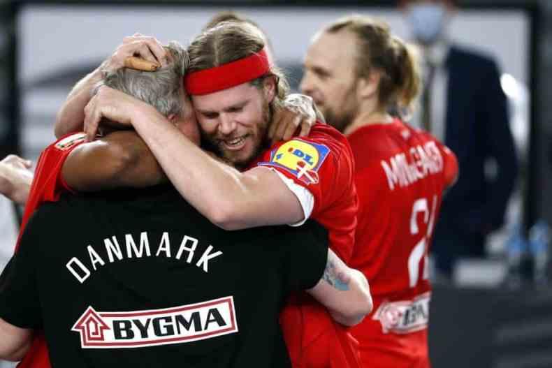 Handball WM 2021 Ägypten Finale - Dänemark vs. Schweden - Mikkel Hansen - Copyright: © IHF / Egypt 2021
