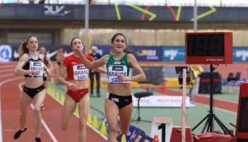 Gesa Felicitas Krause - Leichtathletik Hallen DM 2021 - Foto: Theo Kiefner
