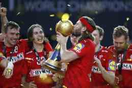 Handball WM 2021 Ägypten Abschlussfeier - Dänemark Weltmeister - Mikkel Hansen - Copyright: © IHF / Egypt 2021
