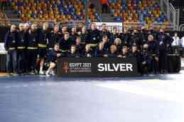 Handball WM 2021 Ägypten Abschlussfeier - Schweden Silber - Copyright: © IHF / Egypt 2021