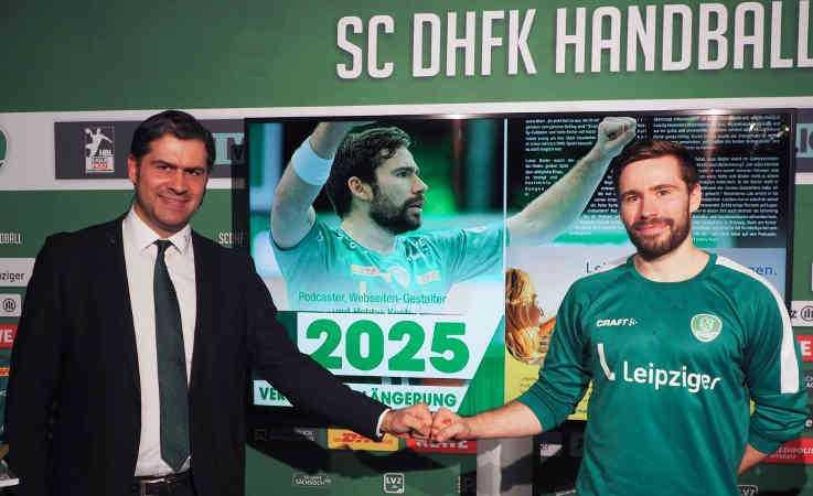 Karsten Günther und Lukas Binder – Foto: SC DHfK Leipzig