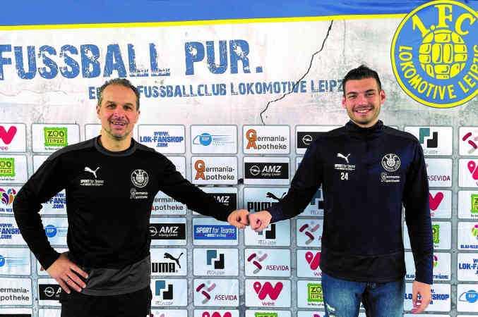 Luca Sirch - Foto: 1. FC Lok Leipzig