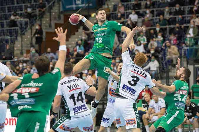 Marko Mamic - SC DHfK Leipzig - Handball Bundesliga - Foto: Karsten Mann