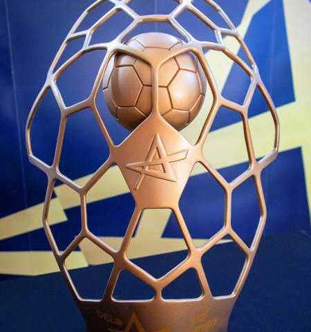 Handball DELO EHF Champions League Trophäe - Copyright: EHF Media