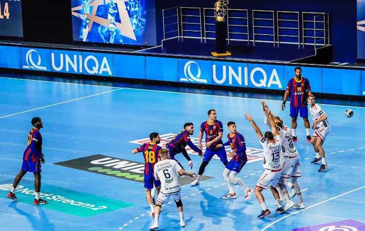 Handball EHF Final4 2021 - FC Barcelona vs. Aalborg Handbold - Copyright: Uros Hocevar, Axel Heimken / EHF