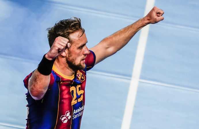 Handball EHF Final4 2021 - FC Barcelona - Luka Cindric - Copyright: Uros Hocevar, Axel Heimken / EHF