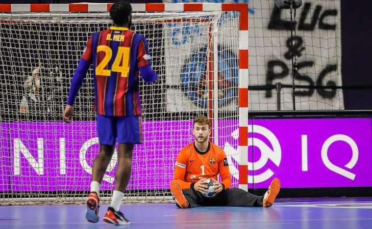 Handball EHF Final4 2021 - Gonzalo Perez de Vargas MVP - Copyright: Uros Hocevar, Axel Heimken / EHF