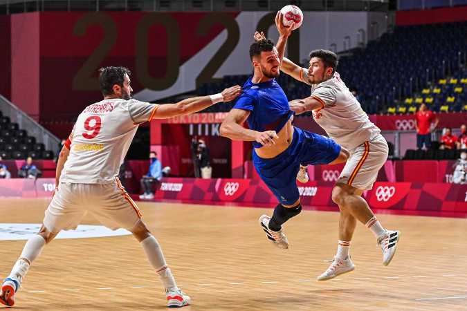 Olympia Tokio 2020 Handball - Frankreich vs. Spanien - Foto: FFHandball / Iconsport