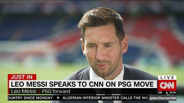 Lionel Messi - Copyright: CNN Sport / CNN International