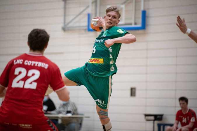 Niclas Heitkamp - SC DHfK Leipzig - Handball - Foto: Klaus Trotter