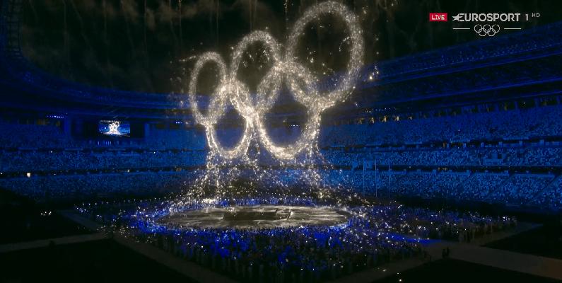 Olympia Tokio 2020 Schlussfeier - Copyright: Discovery/Eurosport