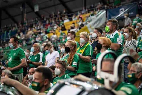 SC DHfK Leipzig Handball Fans - Foto: Klaus Trotter