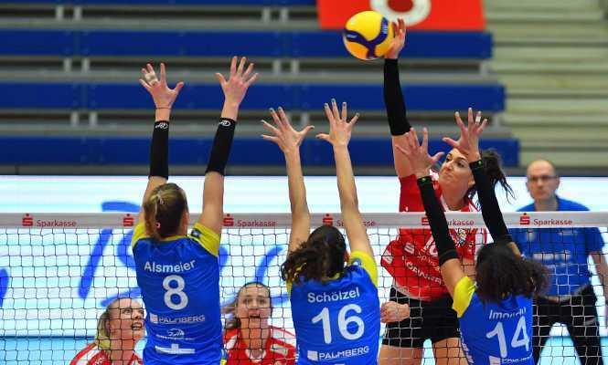 Volleyball Supercup - Dresdner SC vs. SSC Palmberg Schwerin - Copyright: Imago (über SPORT1)