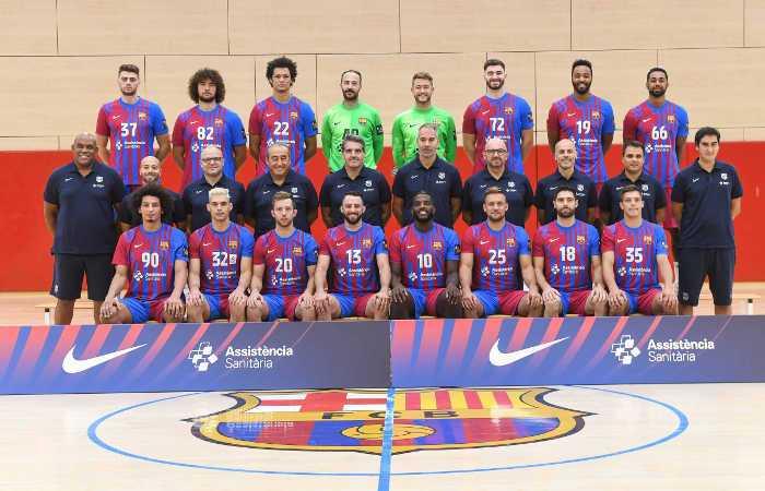 FC Barcelona Barca - Handball Spanien und EHF Champions League Saison 2021-2022 - Copyright: FC Barcelona