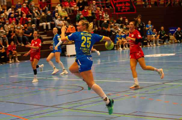 Handball 2. Bundesliga - Kurpfalz Bären vs. HC Leipzig am 29.09.2021 - Foto: HC Leipzig