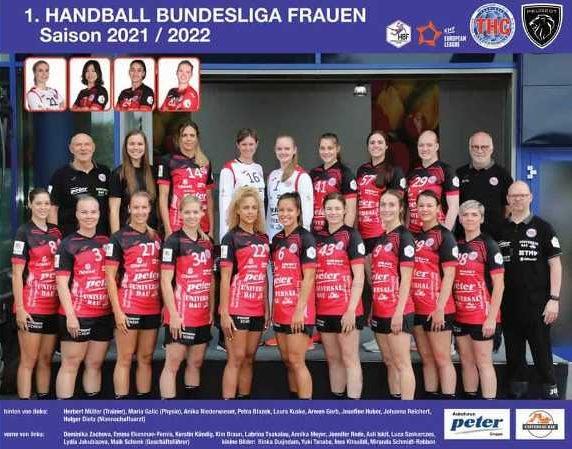 Thüringer HC - Handball Bundesliga Saison 2021-2022 - Copyright: Thüringer HC