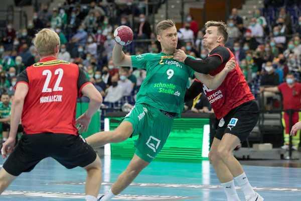 Handball Bundesliga - Julius Meyer-Siebert - SC DHfK Leipzig - Foto: Karsten Mann