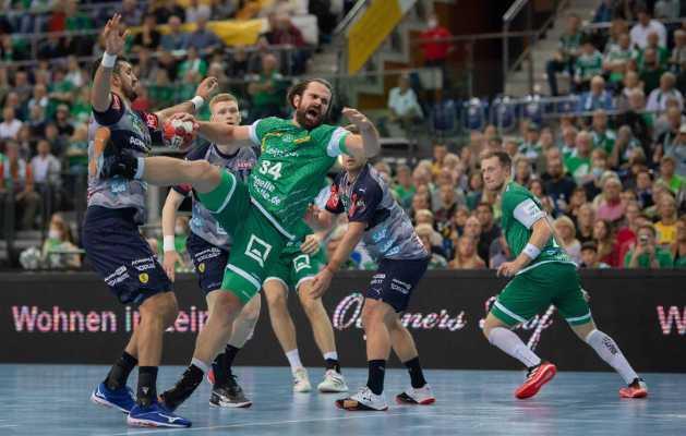 Handball DHB-Pokal - SC DHfK Leipzig vs. Rhein-Neckar Löwen - Foto: Klaus Trotter