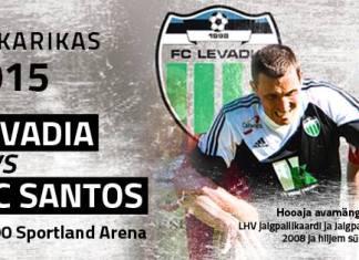 FC Levadia - FC Santos (Superkarikas 2015)