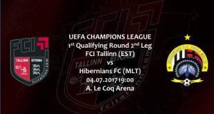 FCI Tallinn vs Hibernians FC