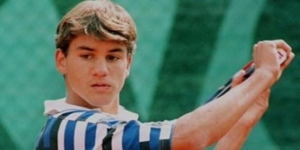 Roger Federer as a boy