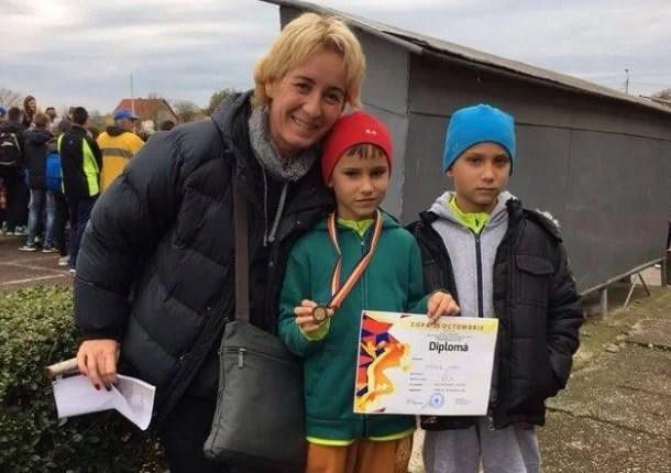 Destule prezențe pe podium pentru atleții de la CSȘ Gloria la tradiționalul concurs de la Carei