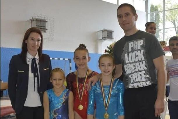 """Gimnastele arădene au strălucit la """"naționalele"""" junioarelor"""