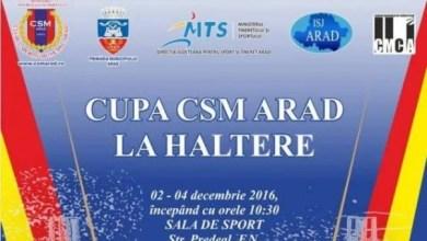 Photo of Halterofili din patru țări vin în weekend la Arad pentru Cupa CSM
