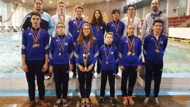 Photo of Înotătorii de la CSȘ Gloria au cules nu mai puțin de 20 de medalii la Timișoara