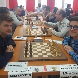 Șah Club Vados - un onorant loc 5 la prima participare la Superliga Naţională de seniori