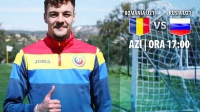 Photo of România Under 21 a pierdut rău cu Rusia cu Adi Petre printre titulari. Utistul a fost înlocuit la 1-1