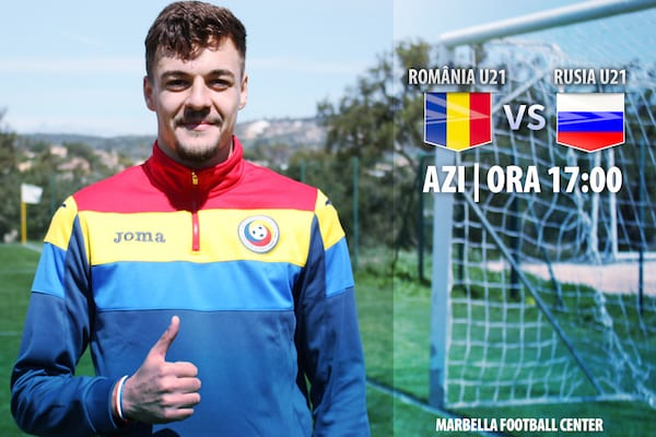 România Under 21 a pierdut rău cu Rusia cu Adi Petre printre titulari. Utistul a fost înlocuit la 1-1