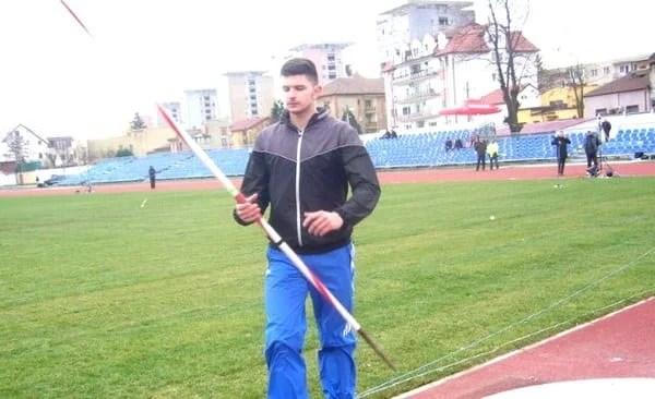 """Rusu, primă medalie pentru atletismul arădean la """"naționalele"""" de Aruncări Lungi"""