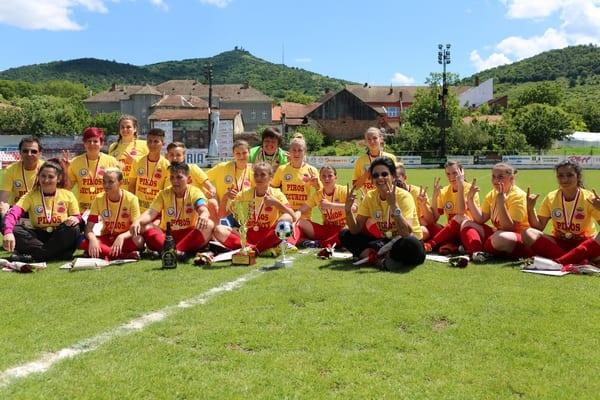 Tricouri de campioane primite pe ploaie…de goluri: AC Piroș Security – Atletic Drobeta 11-1