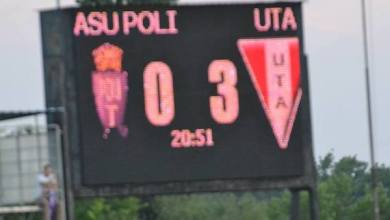 Photo of UTA învingătoare în derbyul vestului: ASU Poli – UTA, 0 – 3