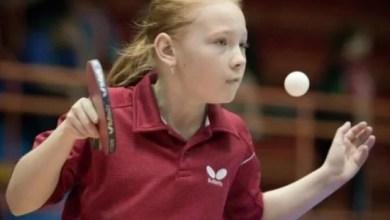 """Photo of Adela Strună se numără printre """"tricolorele"""" junioare de la tenis de masă"""