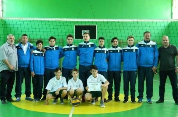 Voleibaliștii de la Școala Generală Aron Cotruș, printre cei mai buni la finala ONSȘ