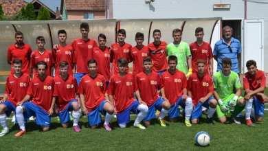 """Photo of ,,Tricolorii"""" au revenit de la scor de neprezentare: Selecționata Aradului – România Under 15  3-4"""