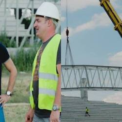 """Motivat de eșecul arenei de la Craiova, Falcă a ieșit pe șantierul """"Francisc Neuman"""""""