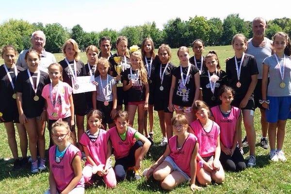ACS Univest Arad, argint la Campionatul național de junioare III la oină