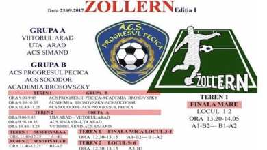 Photo of Sâmbătă, la Pecica are loc ediția I a Cupei Zollern pentru juniori
